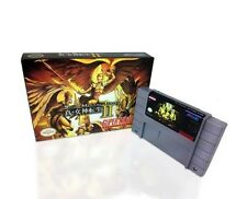 Shin Megami Tensei II ( 2 )- game For SNES Super Nintendo -  Cart and Box!