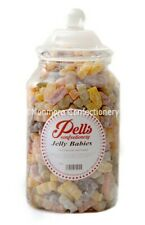 Pells Jelly Babies Full Gift Jar 2.5kg - Classic Retro Sweets