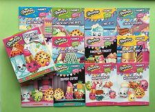 Shopkins Phonics Childrens Kids Books Learning Learn to Read Lot 12 Set NEW