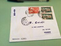 Ivory Coast   to France Airmail stamps Cover Ref 51447