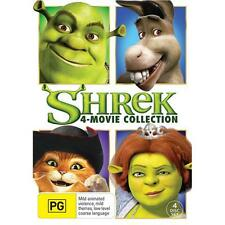 Shrek 4 Movie Collection 1 2 3 4 BRAND NEW SEALED R4 DVD