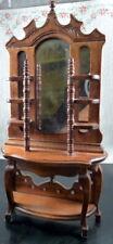 Vintage Bespaq MIRROR HALL TREE 1:12 Dollhouse Miniature