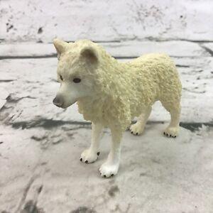 Schleich White Arctic Wolf Figure Realistic Wildlife Animal Detailed Toy 2014