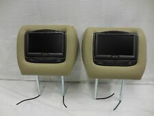 Acura MDX Advent DVD Headrest Video Player Sreen Monitor Pair #21