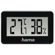 """Hama Thermo-/Hygrometer """"Mini"""", Schwarz/Weiß, 20 Stück im Display"""
