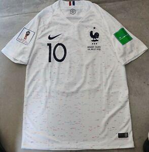 Maillot FRANCE MBAPPÉ 1 étoile Quart de Finale Coupe du monde 2018 vs URUGUAY