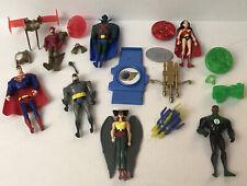 Vintage DC Comics Justice League Action Figure Lot 2003 Martian Manhunter Flash