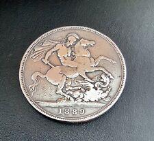 Queen Victoria silver crown 1889