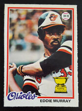 1978 OPC O-Pee-Chee Baseball #154 Eddie Murray Rookie Card RC Baltimore Orioles