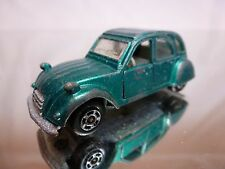 POLISTIL RJ42 CITROEN 2 CV 2CV - GREEN 1:64 - GOOD CONDITION