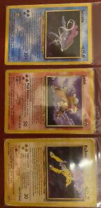 Pokemon Neo Revelation Entei, Suicune, And Raikou Lotto, Fair