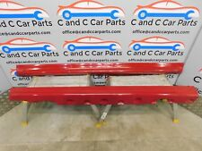 BMW 3 Series E46 Coupe Convertible M Sport Side Skirts Pair Imola Red 11/7
