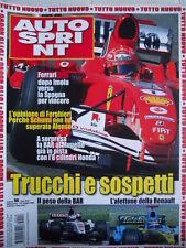 Autosprint n°18 2005 Trucchi e sospetti Peso BAR e Alettone Renault [P22]
