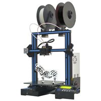 Geeetech Dual Extruder 3D Printer A10M 2 In1 Out 360° View Easy Assembly Large