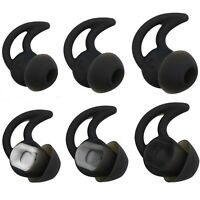 Bose Replacement Noise Isolation Silicone Earbuds/Earplug Tips 3 Pairs Size S...