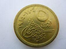 Münze Kursmünze Ägypten 5 Piaster aus Dachbodenfund