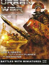 Urban War Edición de la revista 4 25mm skimish sistema de combate Libro