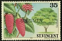 St. Vincent #724 MNH Specimen CV$0.60 Sandbox Hura crepitans