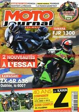 MOTO JOURNAL 2021 YAMAHA FJR 1300 A 1700 Vmax KAWASAKI ZX-6 R Z900 Z1 Z1000 2012