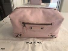 NWT Balenciaga  Agneau Leather Clutch Pouch Bag 439714