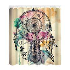 2019 New Shower Curtain Dream Catcher Print Waterproof 180X180cm
