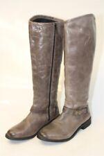 Hinge Womens 8.5 Dakotah NEW Leather Knee High Riding Moto Style Boots mv
