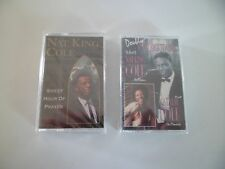 Nat King Natalie Cole Doubly Unforgettable Cassette SEALED Sweet hour of prayer