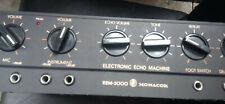 EEM 2000**** MONACOR** Echo  Machine**bis 40  dB Output**Schwarz**
