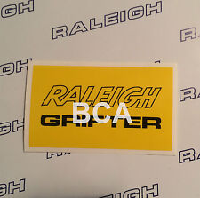 RALEIGH GRIFTER DECAL IN YELLOW & BLACK