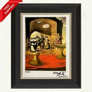 Salvador Dali - Slave Market, Original Hand Signed Print with COA