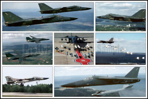 USAF F-111 Aardvark 509th Bombardment Wing Pease AFB 1984-90 8x12 Photo