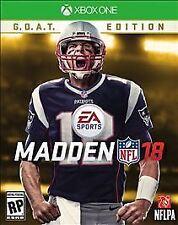 Madden NFL 18: G.O.A.T. Edition (Microsoft Xbox One, 2017)