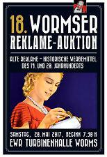 18. Wormser Reklame - Auktion 20. Mai 2017