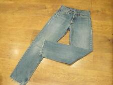 "Levi's 535, W30"", L32"" Blue Straight-leg Denim Jeans, Rise 11"", Hem 16"" vgc"