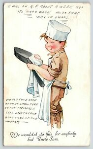 Charles Twelvetrees WWI Patriotic~Soldier Boy Winks~KP: Only Do for Uncle Sam