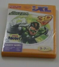 Fisher Price iXl Green Lantern 3D Game New! Factory Sealed! Glasses Included