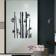 Vinyl Decal Bamboo Trees Floral Design Any Room Wall Sticker Mural Decor 1955