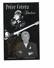 Peter Cetera Authentic Signed 5x8 Photo Great Singer From Chicago To John