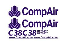 Sticker, aufkleber, decal - CompAir C38