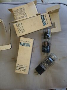 type 83v rectifiers, unused NOS , Perfect condition
