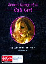 SECRET DIARY OF A CALL GIRL R4 Complete Series Season 1 2 3 & 4 DVD Box Set New