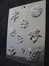 Assorted Flowers Chocolate/Soap Mould CK 13043 Free 1st class post