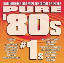 (CD) Pure '80s #1s - 18 Number One Hits, Lionel Richie Tina Turner Robert Palmer