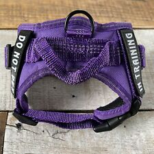 Dog In Training Harness••No-Pull Pet Vest Harness••(XS Purple)••New No Box••