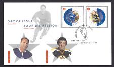 Canada  FDC  # 1935     NHL ALL STARS   2002 ef     New Fresh Unaddressed