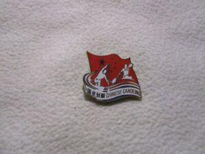 2020 Tokyo - China Canoe Association pin