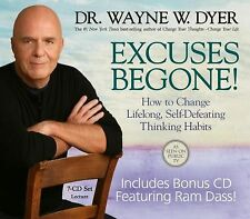 New  7 CD Excuses Begone LIVE Wayne Dyer (PBS ) Ret $ 45.00