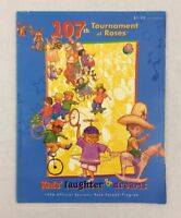 1996 Tournament of Roses Parade Program 107th Year