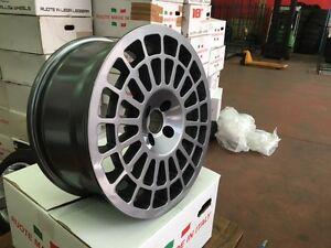 4 Wheels Montecarlo 17 Inches 7,5 4x98 ET32 for Fiat 500 Abarth Italy NAD