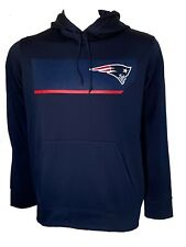 New England Patriots NFL Mens Nike Therma Fit Hoodie Size M